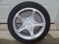 "2000 Ford Mustang GT Stock 17"" Rims and Tires $400.00"