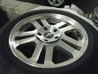 Set of 4 Mustang GT Wheels that fit tire size
