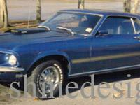 Ford Mustang Mach 1, blue, 351 windsor, 3 speed. See
