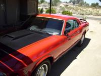 MACH 1 1970 ENGINE TRANS ALL REBUILT//NEW PAN OIL 351