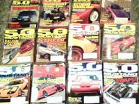 hundreds of ford mustang magazines- primarily muscle