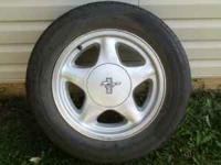 I have a set of 87-93 pony wheels with 225/60/16