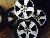 Mustang rims with tires 3 only , 361688eight six 70