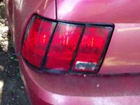 1999-2004 Ford Mustang tail lights. These will fit all