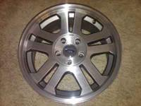 Set of 4 2006 Mustang Gt wheels, comes with all lug