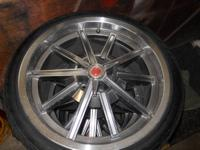 Carroll Shelby 20 x 9 wheels with Hankook Ventus V4es