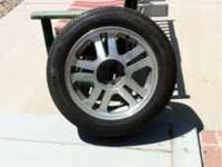 "Mustang Wheels/Tires!!! Set of 4 17"" Wheels/Tires For"