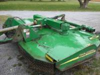 MX10 john Deer Bushog, Heavy Duty, 10ft cut, solid