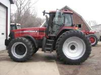 2004 MX285 tractor one owner 3 years remaining on