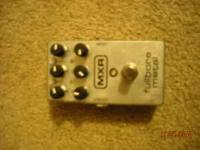 I am selling a used MXR Fullbore Metal guitar effects