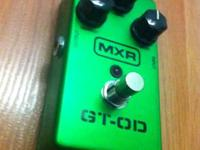 This MXR overdrive pedal is lightly used, unmarked,