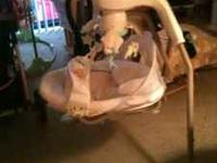 Excellent condition My Little Lamb baby swing. $75.00