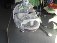 my little lamb cradle swing like new condition...call