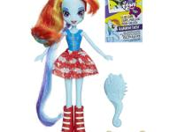 This Rainbow Dash pony doll will be a true friend for