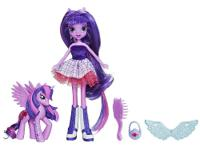 Twilight Sparkle is the new girl at school?and a pony