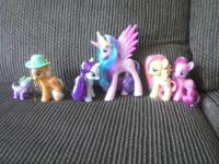 weakening a few of my collection. ponies and dolls have