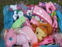 My Little Pony Set includes 14 pieces of My Little