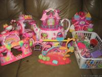 THIS IS A PACKAGE SET OF MY LITTLE PONY TOYS.....ALL IN