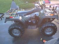 I'm looking to trade my 2005 Arctic Cat 500 ATV that
