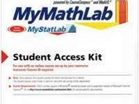 I have a MyMathLab Student Access Kit code for sale