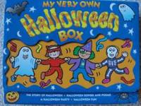 Box set of 4 Halloween books as shown. In great