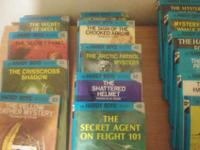 "I HAVE APPROX 12 ""HARDY BOYS"" HARD COVER BOOKS IN"