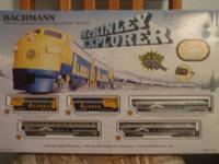 McKinley Explorer N gauge train set. Portraying the