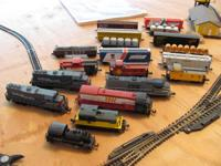 ***LOTS OF ENGINES AND RAIL STOCK*** ***TRACK,
