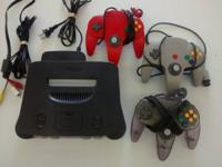 Selling a great condition great working n64 with 3