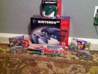 Brand New N64 Controller (Green)- $50 Cruis n World