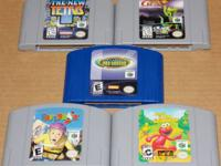 Donkey Kong 64    $17 The New Tetris      $13 Paperboy