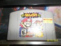 Super Smash Bros. game cartridge for the Nintendo 64.