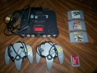 GOOD WORKING NINTENDO 64 WITH AN EXPANSION PAK, A