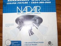 For Sale is a Nadair Illusion Series Light Fixture for