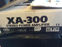 Brand new in box brand new.  2 channel RMS Power: