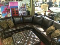 Sectional Sofa Matera Xxl Leather Fabric Mix For Sale In