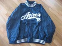 Avirex Jacket ( Navy with White Letters ) Size XL $5