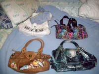I have some purses I need to sell. I have guess, ed