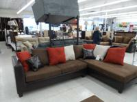 New Sectionals  Blow Out Price....$595! Retails over