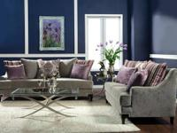 beautiful set of ELEGANT MODERN sofa and love seat for
