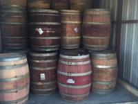 Retired wine barrels for sale. $145 each + sales tax.