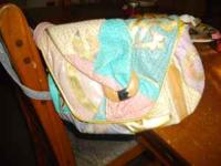 great bag pretty colors call if interested  or  ty