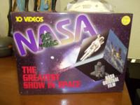 1995 NASA The Greatest Show in Space, VCR tape series,
