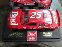 NASCAR #25 WALLY DALLENBACK BUDWEISER CHEVY   BRAND NEW