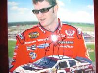 I am offering my nascar autograph pick up. I have