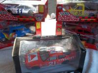 4- NASCAR CAR 50TH ANNIVERSARY EDITION  NEVER OPENED 1-