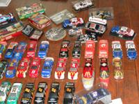 Over 200 nascar 1/24 scale metal diecast from 1989 to