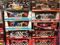 1:18 scale Nascar Diecast cars from many different