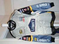 This is a Jimmie Johnson Nascar Jacket autographed by