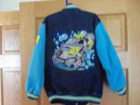 Kids #48 jimmie johnson - sponge bob nascar jacket XS